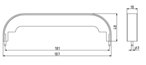 Abdeckkappe für Handgriff ADK PA 160 Image