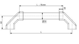 Bügelgriffsystem PR 30 / 200 - 500 mm Image