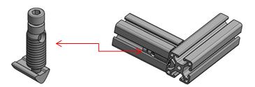 Formverbinder Nut 6 Image