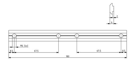 Profilverbinder Nut 8 Image