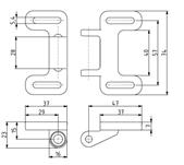 Universal-Kugelschnäpper Image