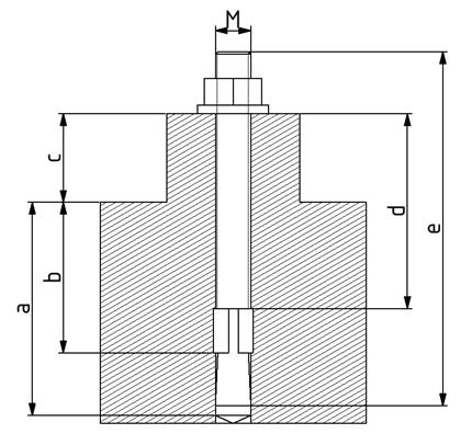 Bodendübel D10 M10 Image
