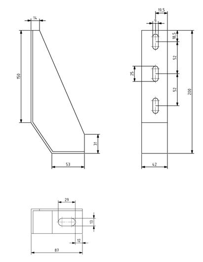 Fundamentwinkel 42x200 Image