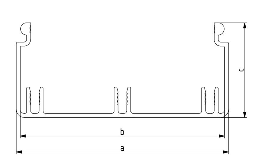 Kabelkanal 40x40 - 80x160 Image