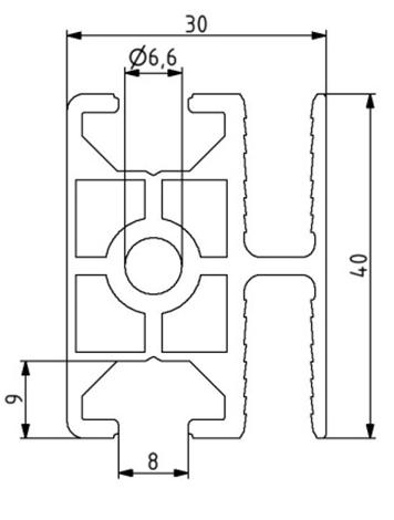 Profil 30x40 WG 40 Image