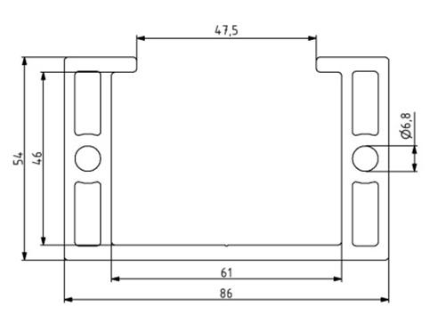 Profil 54x86 Nut 10 Image