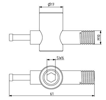 Schnellspann-Schraubenverbinder M10 Image