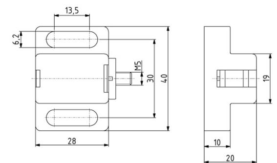 Magnetschnäpper Image