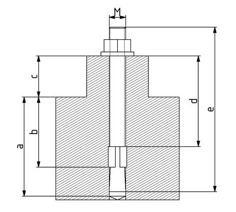 Bodendübel D8 M8 Image